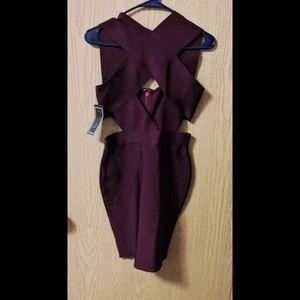 Dresses & Skirts - Plum Bandage Dress ✨ (NWT)